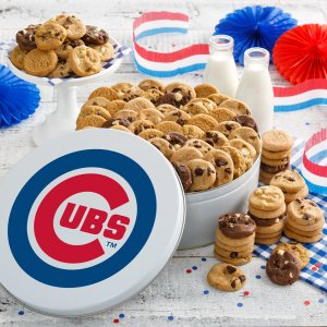 Chicago Cubs 112 Nibbler Tin