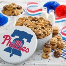 Philadelphia Phillies 112 Nibbler White Tin