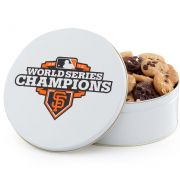 San Francisco Giants World Series Champions Tin 54 Nibbler Tin