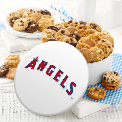 Los Angeles Angels 48 Nibbler Tin