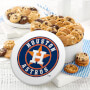 Houston Astros 48 Nibbler Tin