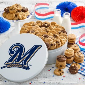 Milwaukee Brewers 112 Nibbler Tin