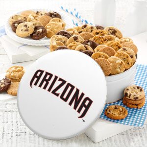 Arizona Diamondbacks 54 Nibbler White Tin