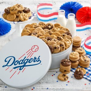 Los Angeles Dodgers 112 Nibbler White Tin