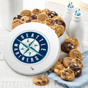 Seattle Mariners 54 Nibbler White Tin