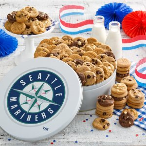 Seattle Mariners 112 Nibbler White Tin