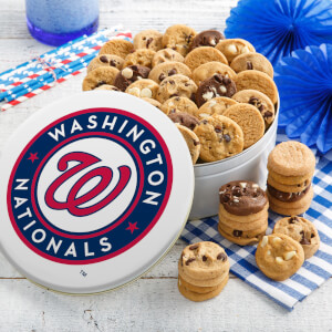 Washington Nationals 54 Nibbler Tin
