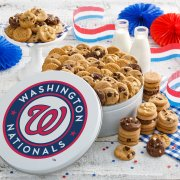 Washington Nationals 112 Nibbler White Tin