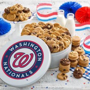 Washington Nationals 112 Nibbler Tin