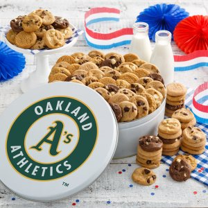 Oakland Athletics 112 Nibbler White Tin