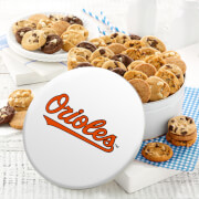 Baltimore Orioles 54 Nibbler White Tin