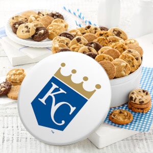 Kansas City Royals 48 Nibbler Tin