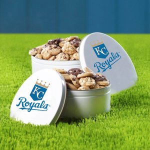 Kansas City Royals 112 Nibbler White Tin
