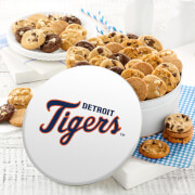 Detroit Tigers 54 Nibbler White Tin