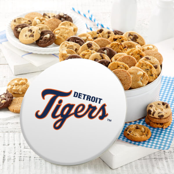 Detroit Tigers 48 Nibbler Tin