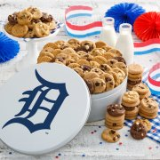 Detroit Tigers 112 Nibbler White Tin