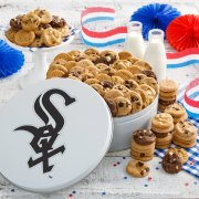 Chicago White Sox 112 Nibbler White Tin