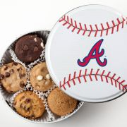 Atlanta Braves Baseball Tin 18 Nibblers