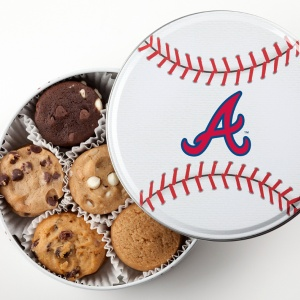 Atlanta Braves Baseball Tin 15 Nibblers