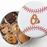 Baltimore Orioles Baseball Tin 18 Nibblers