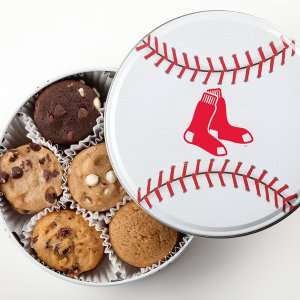 Boston Red Sox Baseball Tin 18 Nibblers