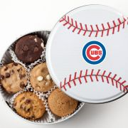 Chicago Cubs Baseball Tin 18 Nibblers