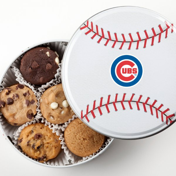 Chicago Cubs Baseball Tin 15 Nibblers