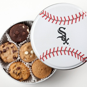 Chicago White Sox Baseball Tin 15 Nibblers