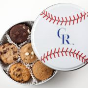 Colorado Rockies Baseball Tin 18 Nibblers