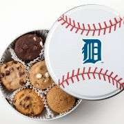 Detroit Tigers Baseball Tin 18 Nibblers
