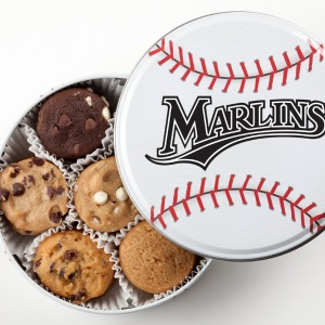 Miami Marlins Baseball Tin 18 Nibblers