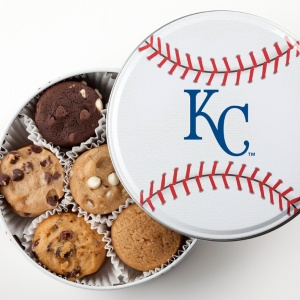 Kansas City Royals Baseball Tin 18 Nibblers