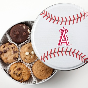 Los Angeles Angels Baseball Tin 15 Nibblers