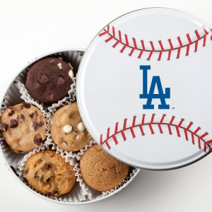 Los Angeles Dodgers Baseball Tin 18 Nibblers