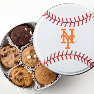 New York Mets Baseball Tin 18 Nibblers