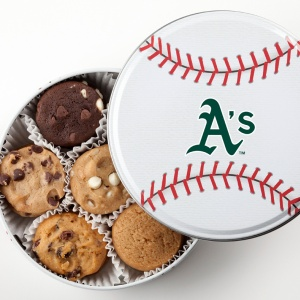 Oakland Athletics Baseball Tin 15 Nibblers