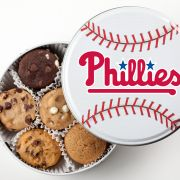 Philadelphia Phillies Baseball Tin 18 Nibblers