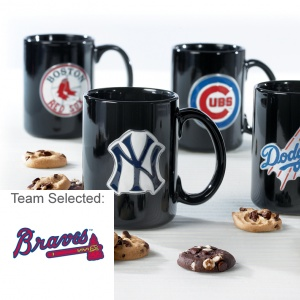 Atlanta Braves Ceramic Mug 12 Nibblers