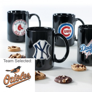 Baltimore Orioles Ceramic Mug 12 Nibblers