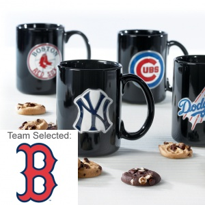Boston Red Sox Ceramic Mug 12 Nibblers