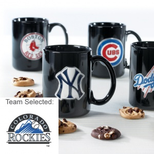 Colorado Rockies Ceramic Mug 12 Nibblers