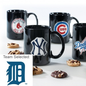 Detroit Tigers Ceramic Mug 12 Nibblers