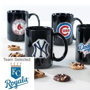 Kansas City Royals Ceramic Mug 12 Nibblers