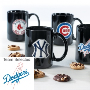Los Angeles Dodgers Ceramic Mug 12 Nibblers