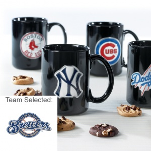 Milwaukee Brewers Ceramic Mug 12 Nibblers