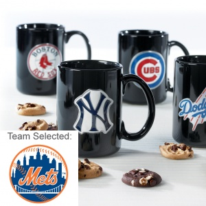 New York Mets Ceramic Mug 12 Nibblers