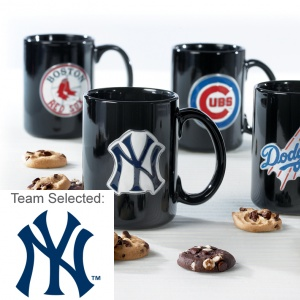 New York Yankees Ceramic Mug 12 Nibblers