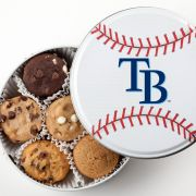 Tampa Bay Rays Baseball Tin 18 Nibblers