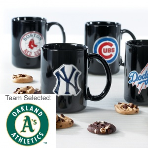 Oakland Athletics Ceramic Mug 12 Nibblers