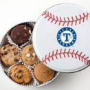 Texas Rangers Baseball Tin (18 Nibblers)